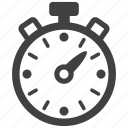 clock, stopwatch, time, timepiece, timer, timing icon
