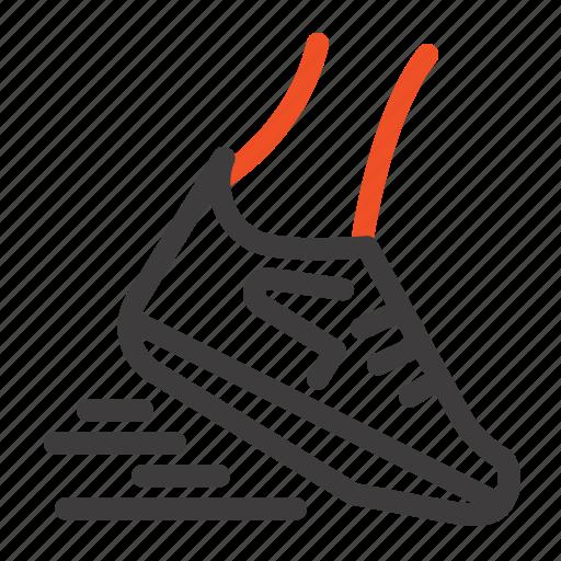 Fast, leg, run, runner, running icon - Download on Iconfinder