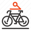 activity, bicycle, bike, biking, cycling icon