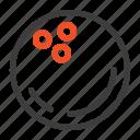 ball, bowling, sports, strike icon
