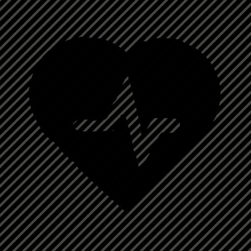 ekg, fitness, heart, rate, sport icon