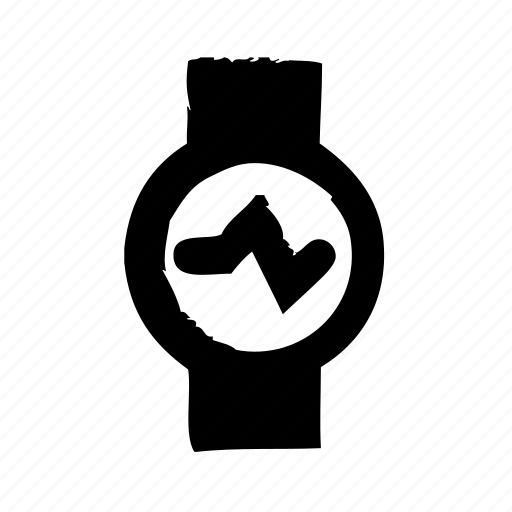 fitness, pulse, smartwatch, sport, watch icon
