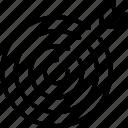 dartboard, target, goal, point