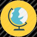 earth, globe, planet, world icon icon