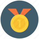 achievement, award, badge, medal, reward, star, winner icon icon