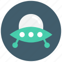 flying, plate, ship, space, ufo icon icon