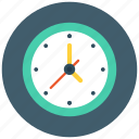 time, time keeper, wall clock icon icon