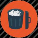 bin, cancel, delete, garbage, recycle, remove, trash icon icon