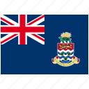 cayman islands, country, flag, national, world icon