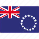 cook islands, country, flag, national, world icon