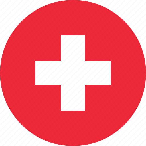country, flag, location, map, national, switzerland, world icon