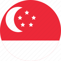 country, flag, map, nation, national, singapore, world icon