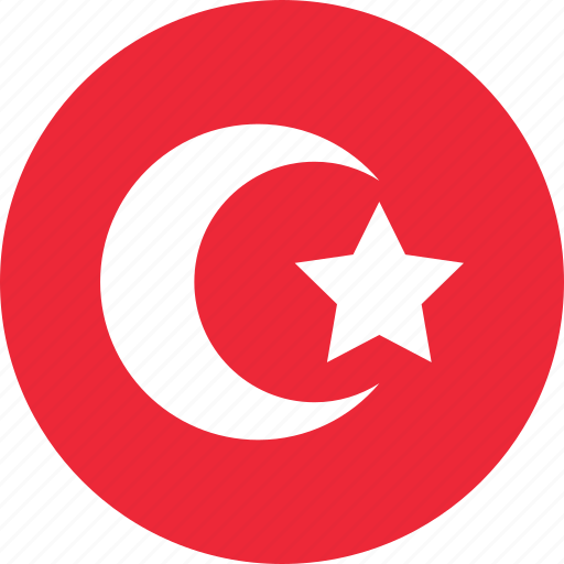country, flag, flags, map, national, turkey, world icon
