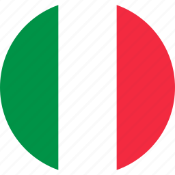 country, flag, flags, italy, map, nation, world icon