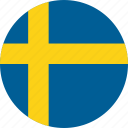 country, flag, location, map, national, sweden, world icon