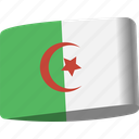 algeria, arab, country, flag, flags, map, national icon