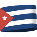 country, cuba, flag, flags, global, location, map icon
