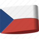 country, czech, flag, flags, global, location, map icon