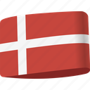 country, denmark, flag, flags, global, location, map