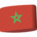 arab, country, flag, flags, map, morocco, national