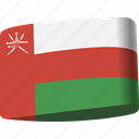 arab, country, flag, flags, map, national, oman