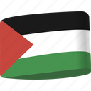 arab, country, flag, flags, map, national, palestine