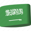 arab, arabia, country, flag, flags, ksa, saudi icon