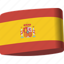 country, flag, flags, global, location, map, spain