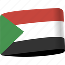 arab, country, flag, flags, map, national, sudan icon