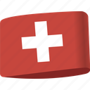 country, flag, flags, global, location, map, switzerland icon