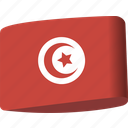 arab, country, flag, flags, map, national, tunisia