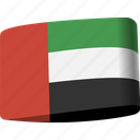 arab, country, emirates, flag, flags, national, uae