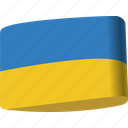 country, flag, flags, global, location, map, ukraine icon