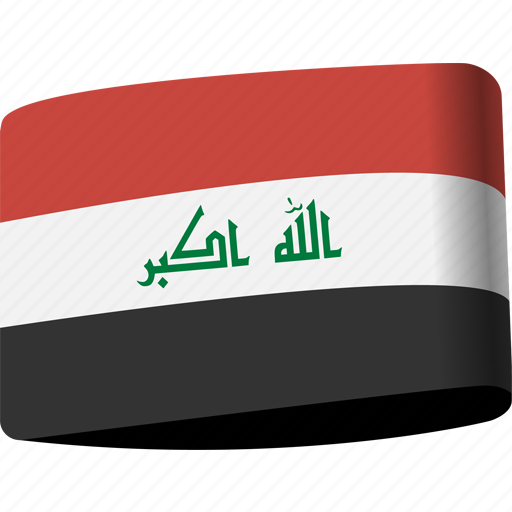 arab, country, flag, flags, iraq, map, national icon