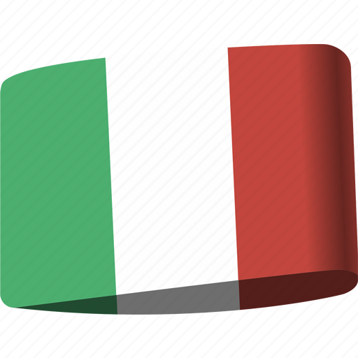 country, flag, flags, global, italy, location, map icon
