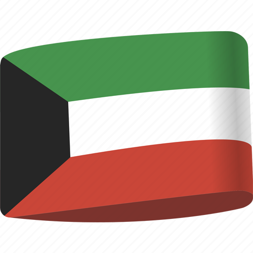 arab, country, flag, flags, kuwait, map, national icon