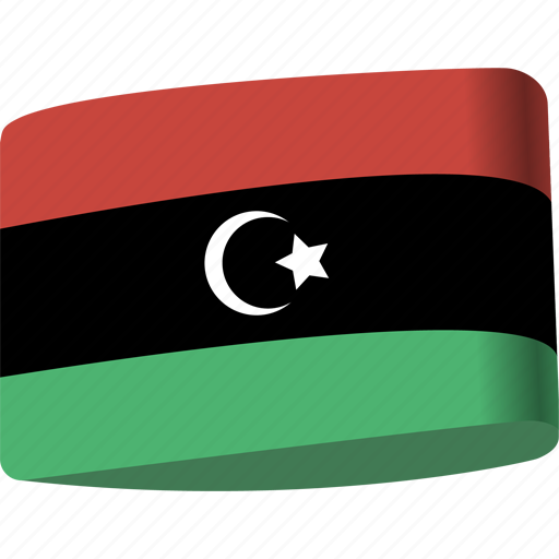 arab, country, flag, flags, libya, map, national icon