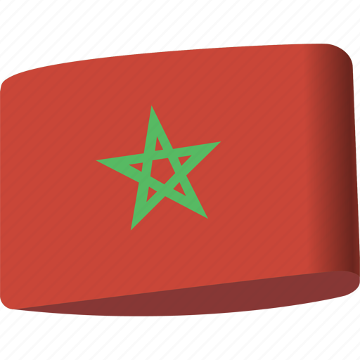 arab, country, flag, flags, map, morocco, national icon