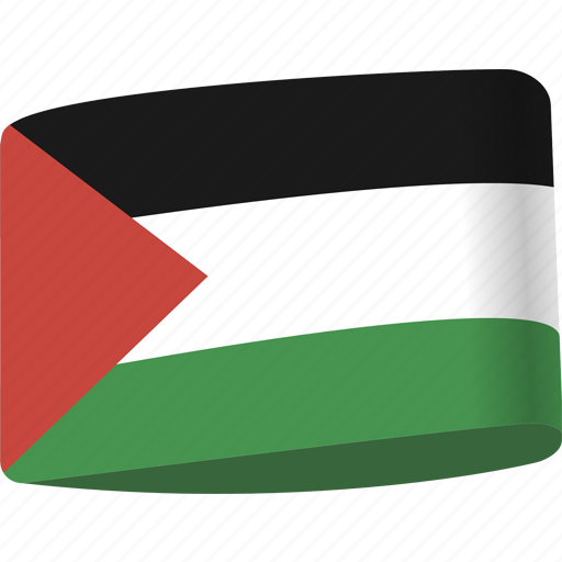 arab, country, flag, flags, map, national, palestine icon