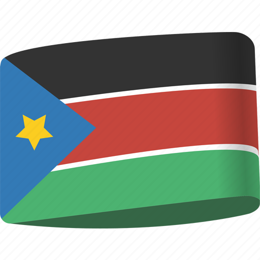 arab, country, flag, flags, national, south, sudan icon