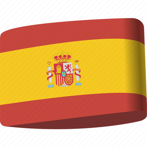 country, flag, flags, global, location, map, spain icon