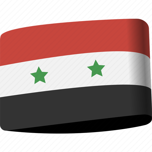 arab, country, flag, flags, map, national, syria icon