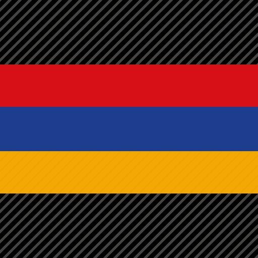 armenia, country, flag icon