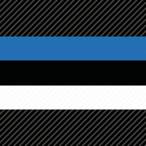 country, estonia, flag icon