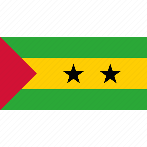 and, country, flag, principe, sao, tome icon