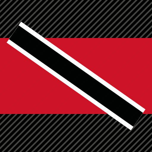 and, country, flag, tobago, trinidad icon