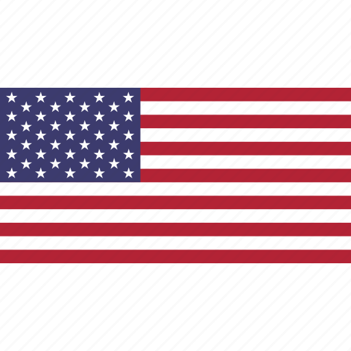 america, country, flag, of, states, united icon