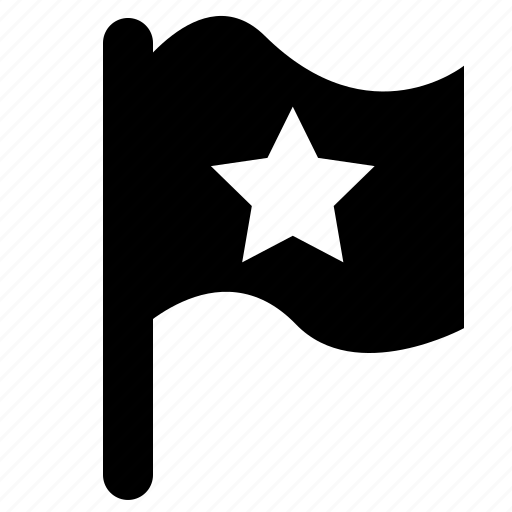 flag, location icon