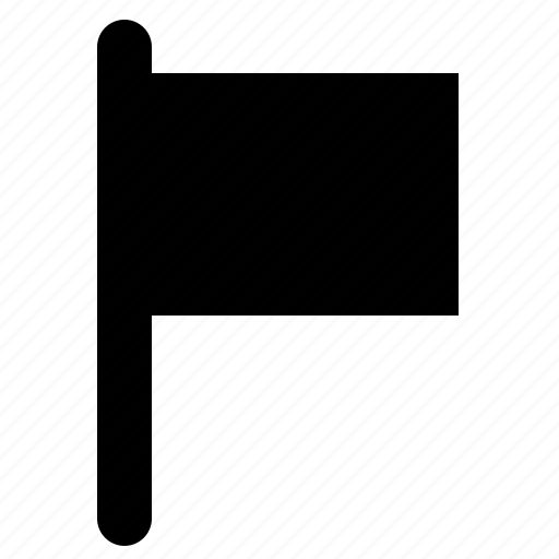 flag, location, marker, position icon