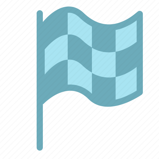 flag, game, play, racing, sport, sports, win icon